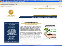 Premier Wealth Advisors, Website Development Companies NJ