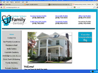 Saratoga Springs Dentists Websites, Website Design Companies